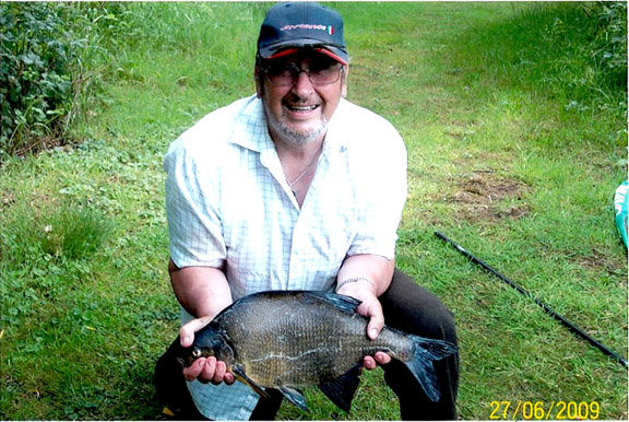 Another 7lb bream (Mrs Plumb)