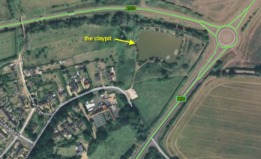 The Claypit, Denver (from Google Earth)
